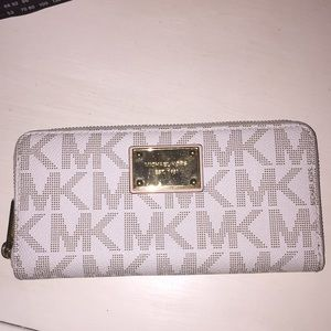"Michael Kors ""MK"" wallet"